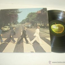 Discos de vinilo: BEATLES LP ABBEY ROAD APPLE RECORDS 1969 CON TÍTULOS EN CASTELLANO. Lote 41662090