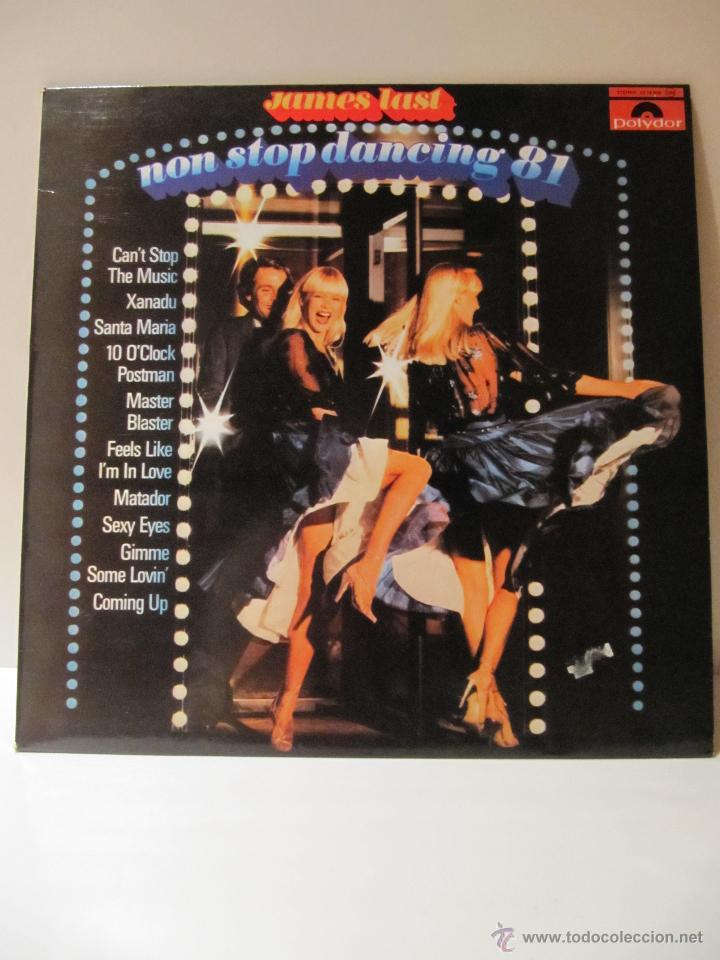 VINILO JAMES LAST. NON STOP DANCING 81. POLYDOR 1981 (Música - Discos de Vinilo - EPs - Disco y Dance)