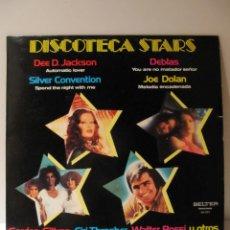 Discos de vinilo: VINILO DISCOTECA STARS. DEE D. JACKSON, DEBLAS, JOE DOLAN, SILVER CONVENTION ... BELTER 1978. Lote 41666918
