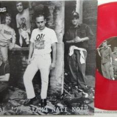 Discos de vinilo: FUORI CONTROLLO ?– DAL '77 SIAMO NATI NOI -10 INCH- UK SKIN /OI! - RED VINYL-MINT.. Lote 41667708