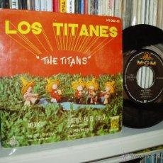 Discos de vinilo: LOS TITANES EP MEXICO + 3 INSTRUMENTAL MGM 1961 SPAIN. Lote 41669599