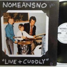 Discos de vinilo: NOMEANSNO- LIVE + CUDDLY- CANADIAN PUNK HARDCORE 2 LP-KONKURRELL- EX/EX.. Lote 41670347