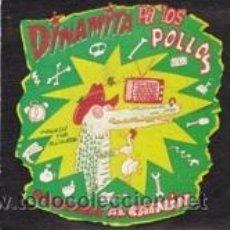 Discos de vinilo: DINAMITA PA LOS POLLOS PASEANDO AL CAIMÁN/ESTA CIUDAD NECESITA.....(GASA 1991). Lote 41671027