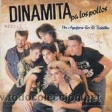 Discos de vinilo: DINAMITA PA LOS POLLOS UN AGUJERO EN EL BOLSILLO/PADRINO BÚFALO (GASA 1990). Lote 41671065
