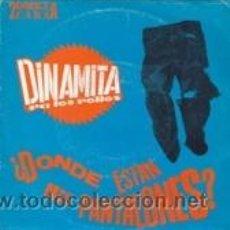 Discos de vinilo: DINAMITA PA LOS POLLOS ¿DÓNDE ESTÁN MIS PANTALONES?/LOS HERMANOS JONES (GASA 1992). Lote 41671102
