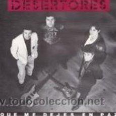 Discos de vinilo: DESERTORES QUE ME DEJES EN PAZ (1991). Lote 41671850