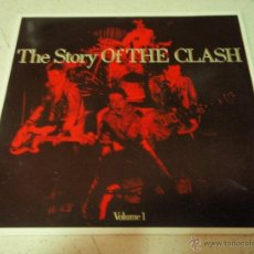 Discos de vinilo: THE CLASH ( THE STORY OF THE CLASH VOLUME 1 ) DOBLE LP33 1988-HOLANDA CBS. Lote 41672082