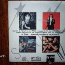 Discos de vinilo: BIG AUDIO DYNAMITE + PASADENAS + PATTI SMITH + MELISSA ETHERIDGE . Lote 41688566