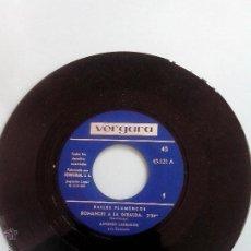 Discos de vinilo: BAILES FLAMENCOS. ALFONSO LABRADOR Y CONJUNTO. 1966. OFERTAS CON OTROS LOTES. Lote 41690041