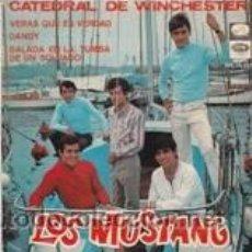 Dischi in vinile: LOS MUSTANG E.P. CATEDRAL DE WINCHESTER/VERÁS QUE ES VERDAD/+2 (EMI 1967). Lote 41691710