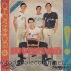 Discos de vinilo: LOS BRINCOS BORRACHO/SOLA (NOVOLA 1965). Lote 41692215