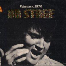 Discos de vinilo: ELVIS PRESLEY. ON STAGE FEBRUARY 1970. RCA VICTOR 1970 ESPAÑA. Lote 41692291