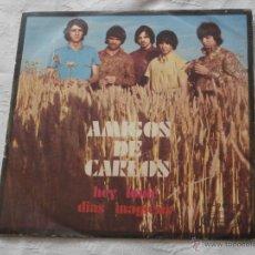 Discos de vinilo: AMIGOS DE CARLOS 7´SG HEY LOUIE / DIAS MAGICOS (1969) EDITA MOVIE PLAY -BUENA CONDICION. Lote 41692889