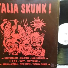 Discos de vinilo: ITALIA SKUNK!- F.F.D.-LOS FASTIDIOS-FIVE BOOTS-VARIOUS GROUP-LP PUNK/OI! 1998-LIM. EDIT. 500 COPIES.. Lote 41703792