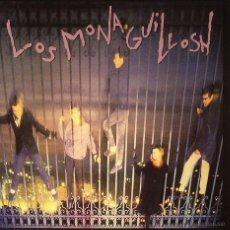 Discos de vinilo: SINGLE EP LOS MONAGUILLOSH VOCES EN LA JUNGLA VINILO MOVIDA GOTH PARALISIS PERMANENTE. Lote 44496530