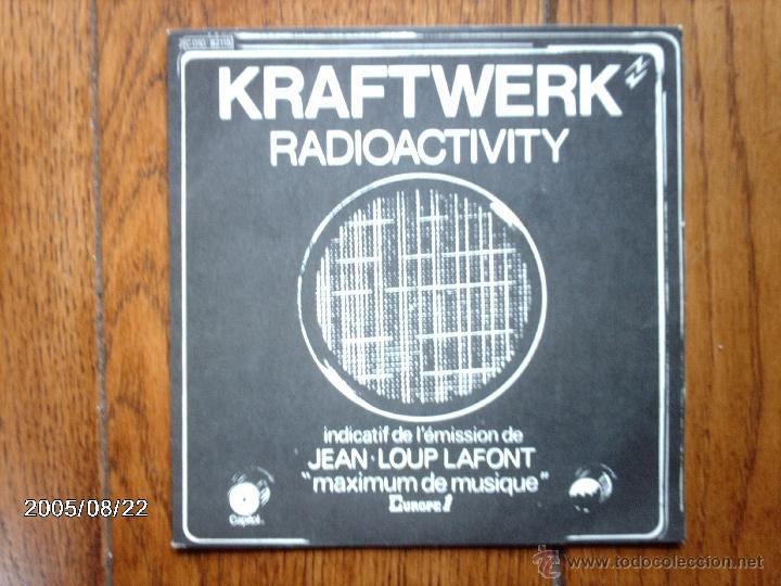 KRAFTWERK - RADIOACTIVITY + ANTENNA (Música - Discos - Singles Vinilo - Electrónica, Avantgarde y Experimental)