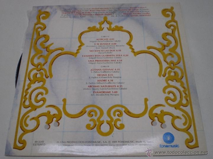 Discos de vinilo: ECOS DE LAS MARISMAS-ACERCATE-LP-FONOMUSIC-AÑO 1991-N - Foto 2 - 41711381