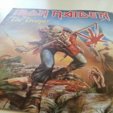 Discos de vinilo: IRON MAIDEN - THE TROOPER - EDICIÓN ORIGINAL UK ENGLAND SINGLE - BLACK RED LABEL - VINILOVINTAGE. Lote 41713780