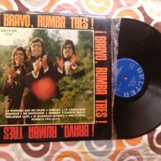 Discos de vinilo: RUMBA TRES - BRAVO!!! (LP) BELTER 1974. Lote 41716784