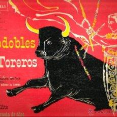 Discos de vinilo: LP GRAN ORQUESTA ESPAÑOLA & MANUEL GOMEZ DE ARRIBA : PASODOBLES TOREROS ( EDICION USA MONTILLA) . Lote 41717140
