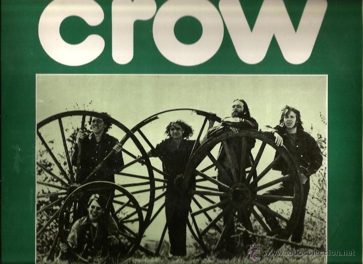LP CROW : EVIL WOMAN ( 1971 ) (Música - Discos de Vinilo - EPs - Pop - Rock Internacional de los 70)