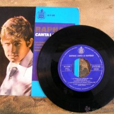 Discos de vinilo: VINILO DE RAPHAEL – CANTA LA NAVIDAD. Lote 189737463