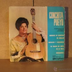 Discos de vinilo: CONCHITA PUEYO - ROMANCE DE AGUSTINA DE ARAGON + 3 - DISCOPHON 27.119 - 1962. Lote 41719629