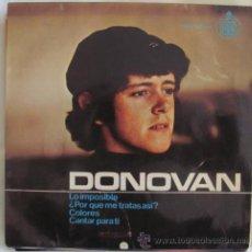 Discos de vinilo: DONOVAN - COLORES - EP 1965. Lote 41719655