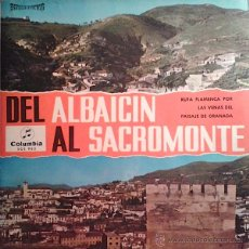 Discos de vinilo: DEL ALBAICIN AL SACROMONTE (LP). Lote 41722837