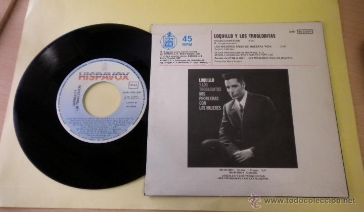 Discos de vinilo: LOQUILLO Y TROGLODITAS (COLECCIONISTAS) SINGLE - Foto 2 - 41725181