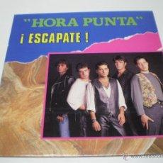 Discos de vinilo: HORA PUNTA - ESCAPATE -LP- ORIGINAL ESPAÑOL-YOKO MUSIC -1992- N. Lote 41730331