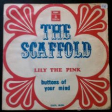 Discos de vinilo: THE SCAFFOLD - LILY THE PINK, BUTTONS OF YOUR MIND - SINGLE ESPAÑA. Lote 41730769