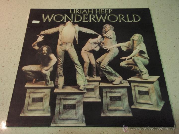 URIAH HEEP – WONDERWORLD SCANDINAVIA 1974 BRONCE (Música - Discos - LP Vinilo - Pop - Rock - Internacional de los 70)