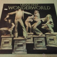 Discos de vinilo: URIAH HEEP – WONDERWORLD SCANDINAVIA 1974 BRONCE. Lote 41731096