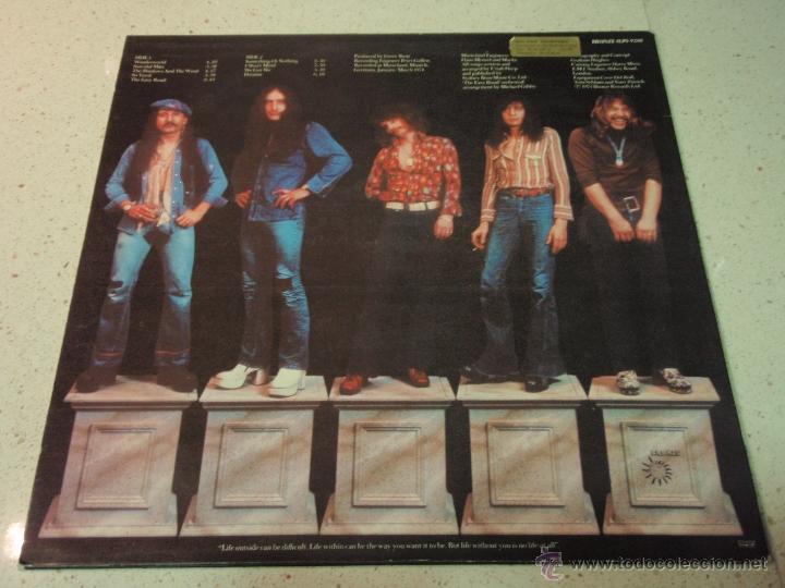 Discos de vinilo: Uriah Heep – Wonderworld Scandinavia 1974 Bronce - Foto 2 - 41731096