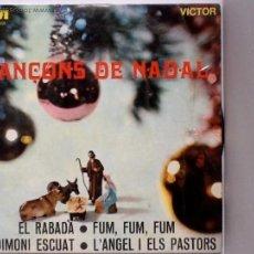 Discos de vinilo: CORAL INFANTIL 'LA TREPA' - CANÇONS DE NADAL - EP 1968. Lote 41732563