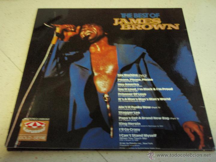 Discos de vinilo: JAMES BROWN ( THE BEST OF JAMES BROWN ) 1981-GERMANY LP33 KARUSSELL - Foto 2 - 41514765