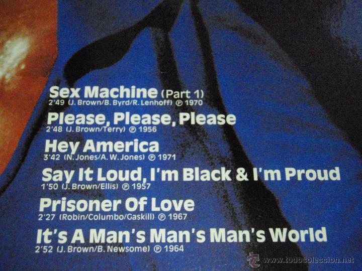 Discos de vinilo: JAMES BROWN ( THE BEST OF JAMES BROWN ) 1981-GERMANY LP33 KARUSSELL - Foto 3 - 41514765