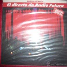 Discos de vinilo: EL DIRECTO DE RADIO FUTURA- ESCUELA DE CALOR. Lote 132847554