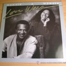 Discos de vinilo: WOMACK & WOMACK - LOVE WARS - LP MADE IN GERMANY, 1983. Lote 41745955