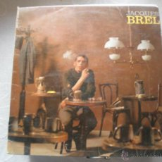 Discos de vinilo: JACQUES BREL, CES GENS 10 PLUGADAS . Lote 41751797