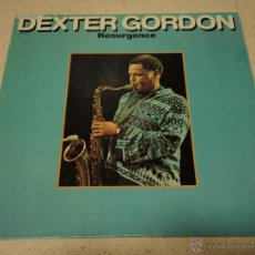 Discos de vinilo: DEXTER GORDON ( RESURGENCE ) USA - 1981 LP33 PRESTIGE RECORDS. Lote 41753362