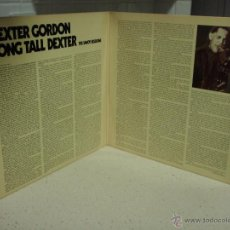 Discos de vinilo: DEXTER GORDON ( LONG TALL DEXTER ) THE SAVOY SESSIONS DOBLE LP33 USA-1976 SAVOY. Lote 41753559