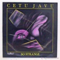 Discos de vinilo: CETA JAVU - 'SO STRANGE' (MAXI SINGLE VINILO) - PEDIDO MÍNIMO 8€. Lote 41755017