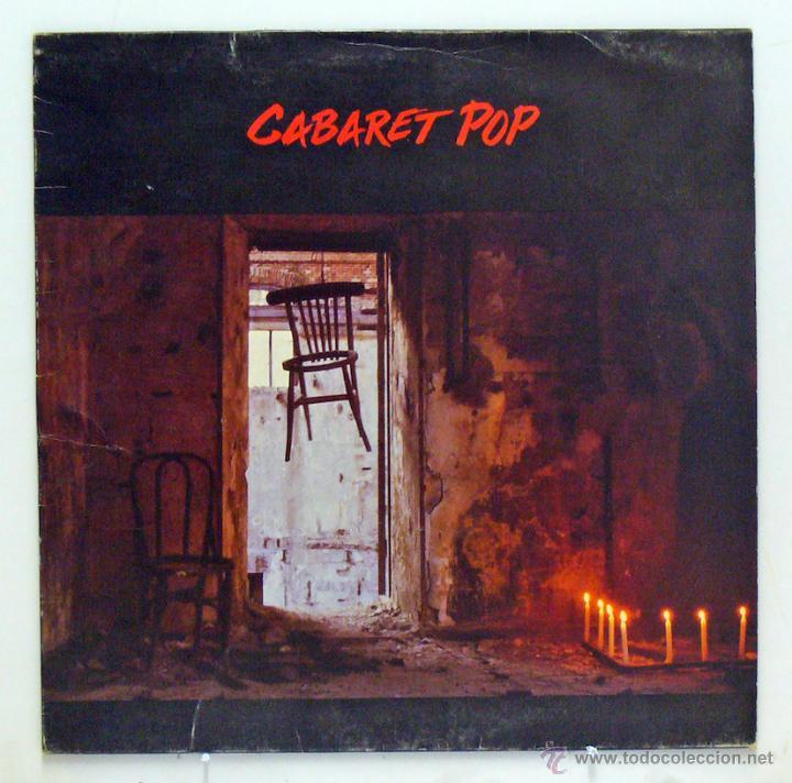 CABARET POP - 'CABARET POP' (LP VINILO / VINYL LP) - PEDIDO MÍNIMO 8€ (Música - Discos - LP Vinilo - Grupos Españoles de los 90 a la actualidad)