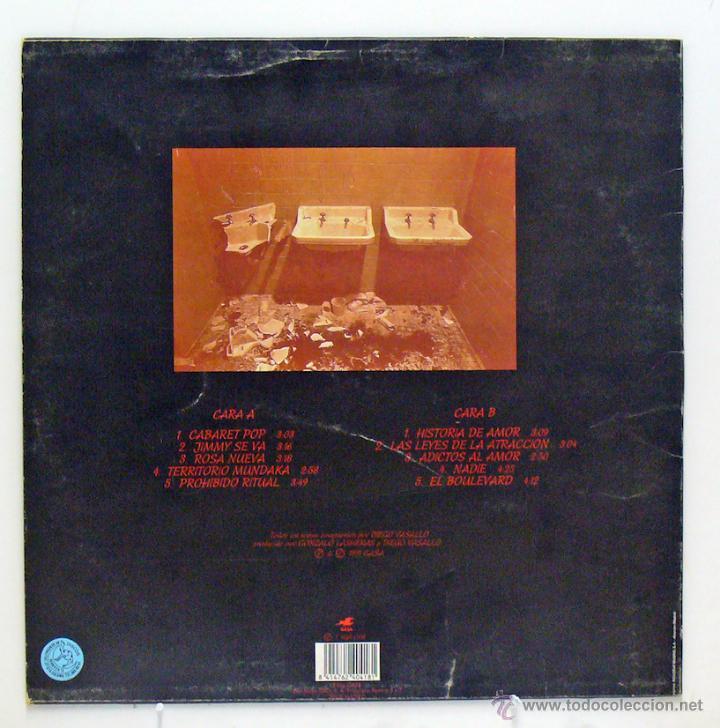 Discos de vinilo: Cabaret Pop - 'Cabaret Pop' (LP Vinilo / Vinyl LP) - Pedido mínimo 8€ - Foto 2 - 41755417