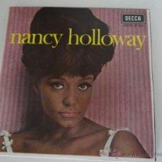Discos de vinilo: NANCY HOLLOWAY / J'AI DU PERDRE MON CHEMIN / JE PREFERE / AIE, JE VEUX VIVRE / JE L'IMAGINE (EP 67). Lote 41763329