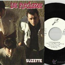 Discos de vinilo: LOS FLECHAZOS SINGLE SUZETTE ESPAÑA 1991. Lote 41764170