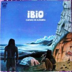 Discos de vinilo: IBIO - CUEVAS DE ALTAMIRA LP - MOVIEPLAY 1978 - ROCK PROGRESIVO - GATEFOLD COVER. Lote 41764393