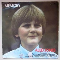 Discos de vinilo: ALED JONES - MEMORY - CATS (LLOYD WEBBER) / YESTERDAY (BEATLES) - BBC. Lote 41765440